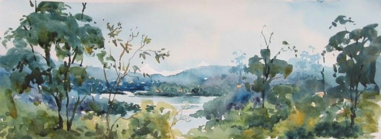 Pittwater Bush - by Jennifer Gilchrist