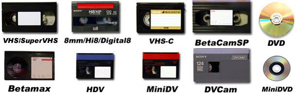 VHS_8mm_vcr_tape_to_dvd_transfer